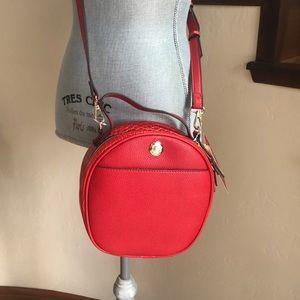 🆕 CARLOS SANTANA Red Vegan Leather Crossbody Bag